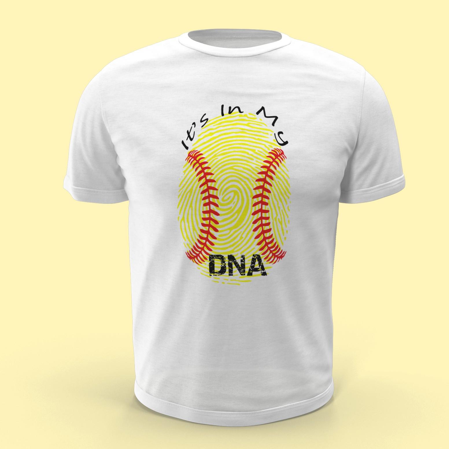 White Softball DNA