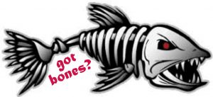 Got Bones? Window/Boat Carpet Decal