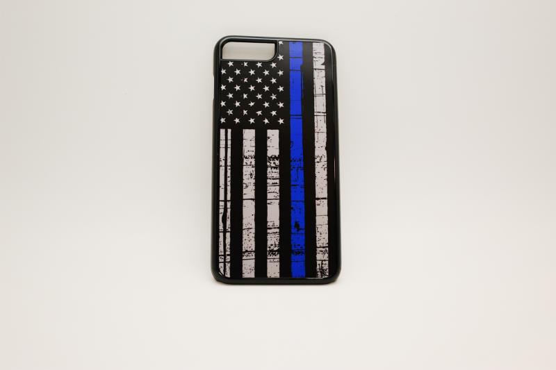 iPhone 7P Thin Blue Line