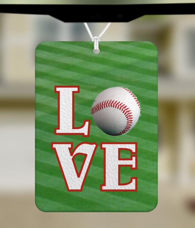 Love Baseball MockUP
